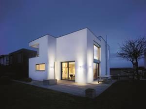 Steinel LED-Außenwandleuchte mit Bewegungsmelder