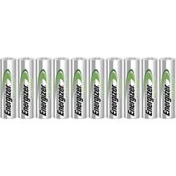 Tužkový akumulátor typu AA Ni-MH Energizer Power-Plus HR06 E300626800, 2000 mAh, 1.2 V, 10 ks