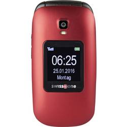 Swisstone BBM 625 telefón pre seniorov - véčko nabíjacej stanice, tlačidlo SOS červená