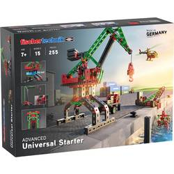 Experimentálny box - stavebnica fischertechnik ADVANCED Universal Starter Advanced 536618, od 7 rokov