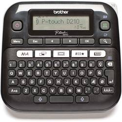 Image of Brother P-touch D210 Beschriftungsgerät Geeignet für Schriftband: TZe 3.5 mm, 6 mm, 9 mm, 12 mm