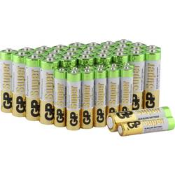 Image of GP Batteries Batterie-Set Micro, Mignon 44 St.
