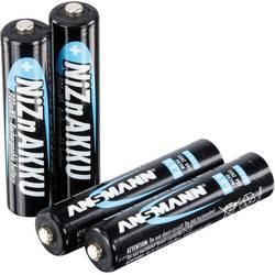 Mikrotužkový akumulátor typu AAA Ni-Zn Ansmann HR03 1321-0001, 550 mAh, 1.6 V, 4 ks