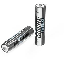 Mikrotužková batérie typu AAA lítiová Ansmann Extreme, 1150 mAh, 1.5 V, 2 ks