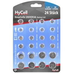 Sada knoflíkových batérií HyCell Knoopcellenset 1516-0003, 24 ks