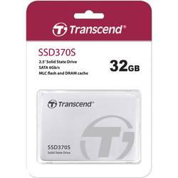 """Interný SSD pevný disk 6,35 cm (2,5 """") Transcend SSD370S TS32GSSD370S, 32 GB, Retail, SATA 6 Gb / s"""