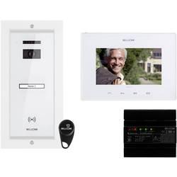 Káblový domové videotelefón Bellcome VKM.P1FR.T7S4.BLW04, biela