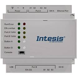Brána RS-485, RJ-45, Ethernet Intesis INKNXMBM2500000, 24 V/DC