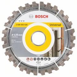 Diamantový rezací kotúč Best for Universal, 125 x 22,23 x 2,2 x 12 mm Bosch Accessories 2608603630, Priemer 125 mm, 1 ks