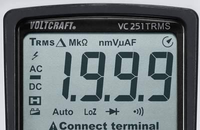 Voltcraft VC251 TRMS Display