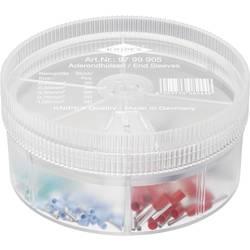Sada dutiniek Knipex 97 99 905, box na drobné súčiastky, úplne izolované, modrá, tyrkysová, biela, čierna, červená, 150 ks