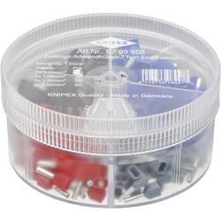 Sada dutiniek Knipex 97 99 908, box na drobné súčiastky, úplne izolované, sivá, červená, čierna, modrá, 200 ks