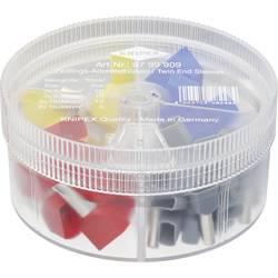Sada dutiniek Knipex 97 99 909, box na drobné súčiastky, úplne izolované, sivá, červená, modrá, žltá, 45 ks