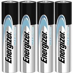 Mikrotužková batérie typu AAA alkalicko-mangánová Energizer Max Plus, 1.5 V, 4 ks