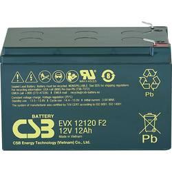 Olovený akumulátor CSB Battery EVX 12120 EVX12120F2, 12 Ah, 12 V