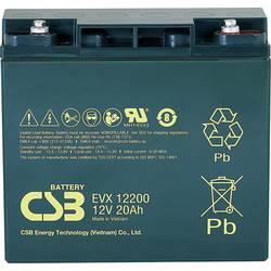 Olovený akumulátor CSB Battery EVX 12200 EVX12200, 20 Ah, 12 V