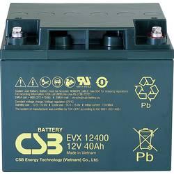 Olovený akumulátor CSB Battery EVX 12400 EVX12400-I1, 40 Ah, 12 V