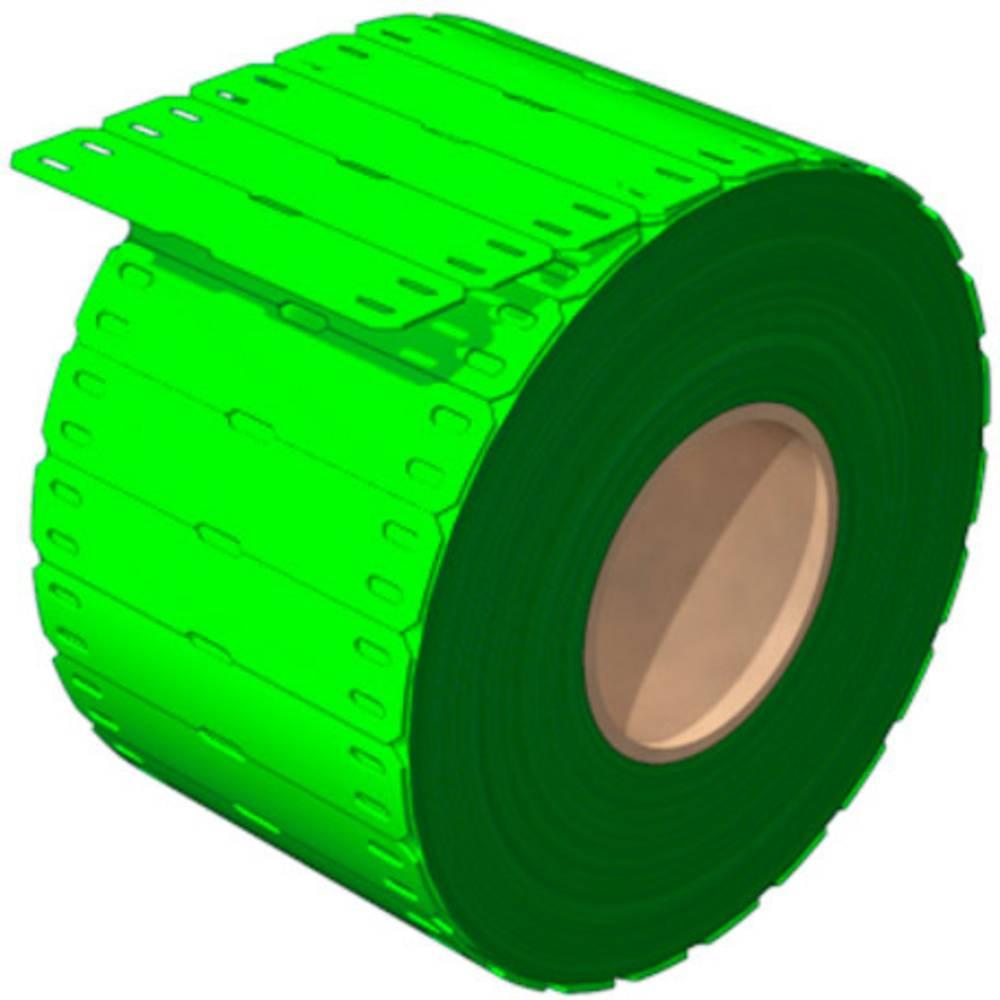 Weidmüller 2519050000 SFX 11/60 MM GN Kabelmarkör Monteringsmetod: Trådning Utskriftsområde: 11 x 60 mm Grön Antal märkningar: 1000 1000 st