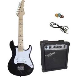 Image of MSA Musikinstrumente Style 3 E-Set E-Gitarren-Set Schwarz