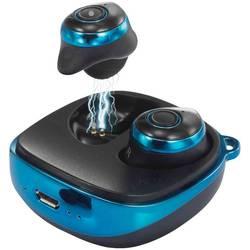 True Wireless štupľové slúchadlá Renkforce RF-BTK-200 RF-3387438, modrá, čierna