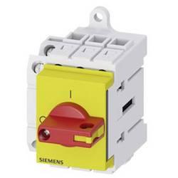 Odpínač červená, žltá 3-pólové 16 mm² 16 A 1 spínací, 1 rozpínací 690 V/AC Siemens 3LD30301TK13