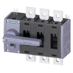 Odpínač 3-pólové 500 A 8 spínacích kontaktov, 8 rozpínacích kontaktov 690 V/AC Siemens 3KD44320QE100