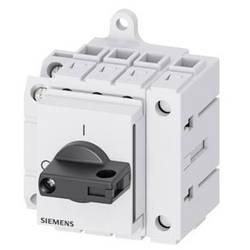 Odpínač čierna 4-pólové 16 mm² 25 A 1 spínací, 1 rozpínací 690 V/AC Siemens 3LD31301TL11