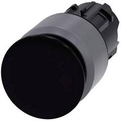 Hríbové tlačidlo Siemens 3SU1030-1AA10-0AA0, čierna, 1 ks