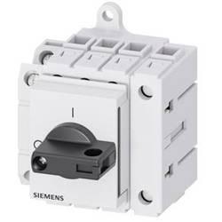 Odpínač čierna 4-pólové 16 mm² 40 A 1 spínací, 1 rozpínací 690 V/AC Siemens 3LD33301TL11