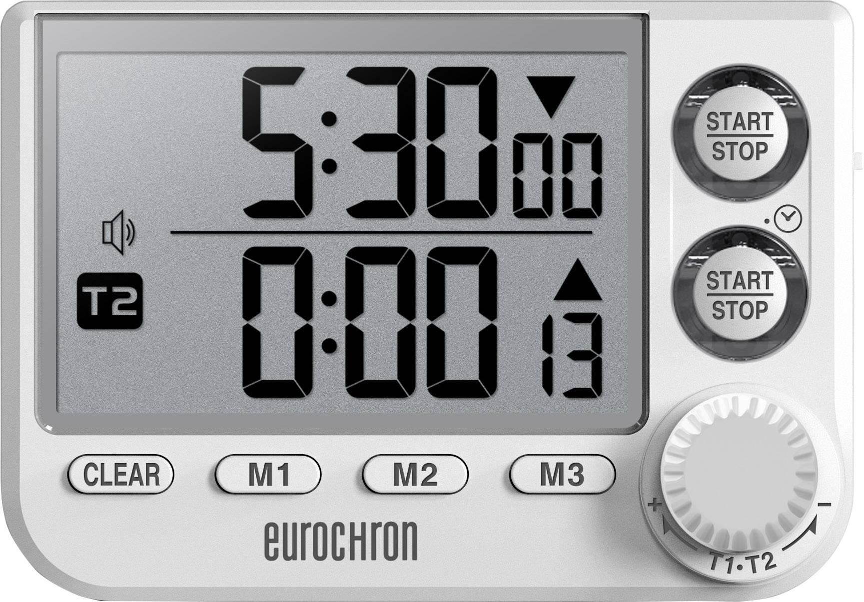 Eurochron EDT 4000 Timer Weiß digital