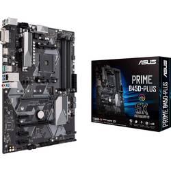 Základní deska Asus Prime B450-Plus Socket AMD AM4 Tvarový faktor ATX Čipová sada základní desky AMD® B450