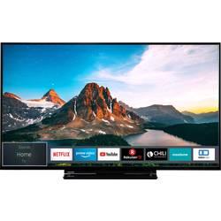 "LED TV 140 cm 55 "" Toshiba 55V5863DA en.třída A+ (A++ - E) DVB-C, DVB-S, UHD, Smart TV, WLAN černá"
