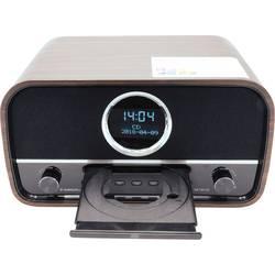 DAB+ rádio s CD prehrávačom Albrecht DR 790, AUX, Bluetooth, CD, DAB+, UKW, hnedá