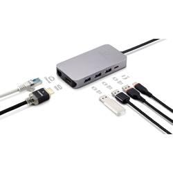 Dokovací stanice pro notebook Renkforce USB-C™ 9-in-1 Dock 60 W vhodné pro značky: Acer, Apple, Asus, Dell, HP, Lenovo, Google, Huawei, Microsoft