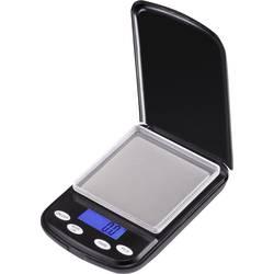 Kapesní váha VOLTCRAFT PS-100 Max. váživost 200 g Rozlišení 0.1 g na baterii černá Kalibrováno dle b