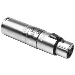 Image of Amphenol XLR-Adapter XLR-Buchse - XLR-Stecker Polzahl (num):3, 5 1 St.