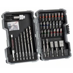 Sada bitov a vrtákov Bosch Accessories 2607017328, brúsené, 35-dielna