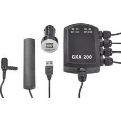 Alarm do auta Renkforce GKA200, lze použít s mobilním telefonem, zjišťování polohy vozidla, senzor vibrací, portál GPS, 12 V/DC, 24 V/DC