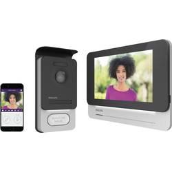 2 linka domové videotelefón Philips 531002, čierna, hliník