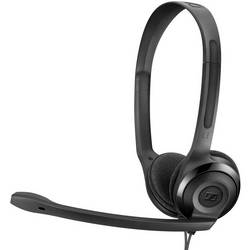Headset k PC Sennheiser PC 5 Chat na ušiach jack 3,5 mm káblový čierna