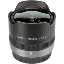 Objektiv Fish Eye (rybí oko) Panasonic Lumix G 3,5/8 Fisheye H-F008E
