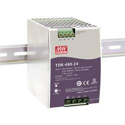 Sieťový zdroj na montážnu lištu (DIN lištu) Mean Well TDR-480-48, 1 x, 10 A, 480 W