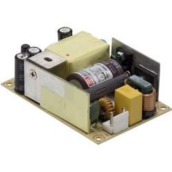 Zabudovateľný sieťový zdroj AC/DC, open frame Mean Well EPS-65S-24, 27.6 V/DC, 2.71 A, regulovateľné výstupné napätie