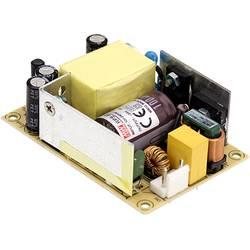 Zabudovateľný sieťový zdroj AC/DC, open frame Mean Well RPS-65-15, 15 V/DC, 4.77 A, regulovateľné výstupné napätie