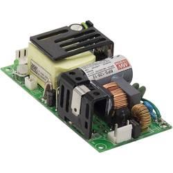 Zabudovateľný sieťový zdroj AC/DC, open frame Mean Well RPS-120-12, 12 V/DC, 10 A