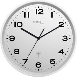 DCF nástenné hodiny Techno Line WT 8500-2 silber, vonkajší Ø 30 cm, strieborná