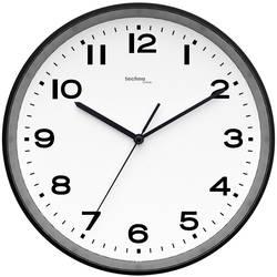 DCF nástenné hodiny Techno Line WT 8500-3 schwarz, vonkajší Ø 30 cm, čierna