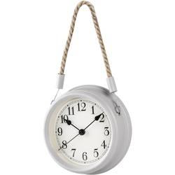 Quartz nástenné hodiny Techno Line WT 7130, vonkajší Ø 22 cm, biela