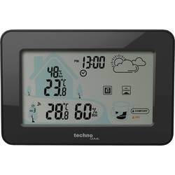 Digitálna bezdrôtová meteostanica Techno Line WS 9490 WS 9490, čierna