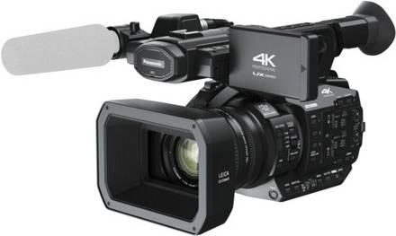 PanasonicUX 4K Profi Camcorder mit hoher Bildqualität und Ulltra-HD-Auflösung.